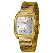 Relógio Lince Anadigi Dourado- LAGH118L
