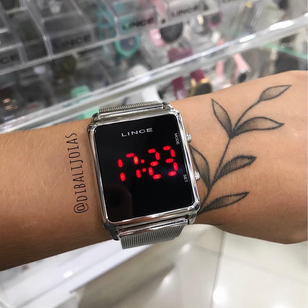 Relógio Lince Led - MDM4596L