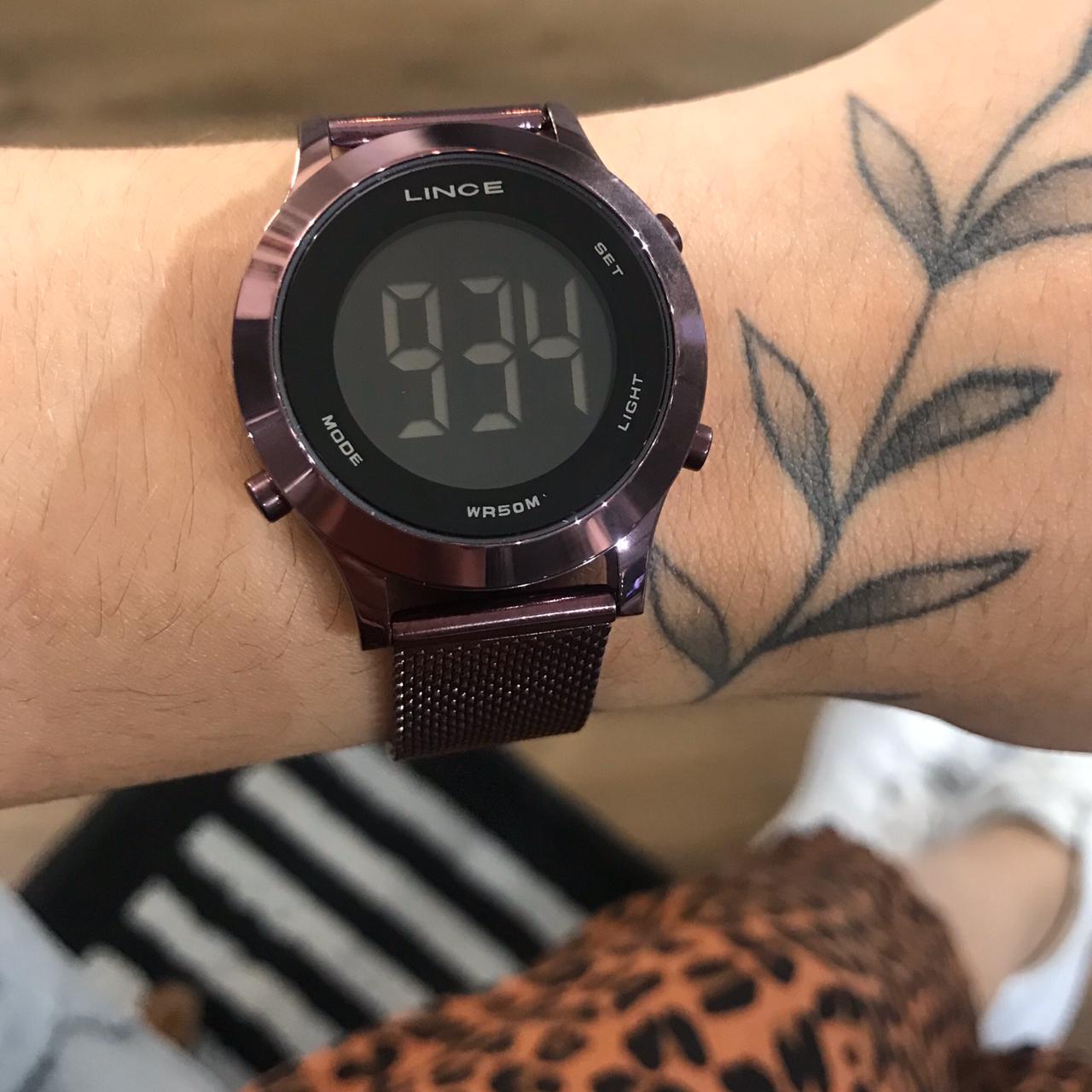 Relógio LINCE  Roxo Digital - SDPH115L
