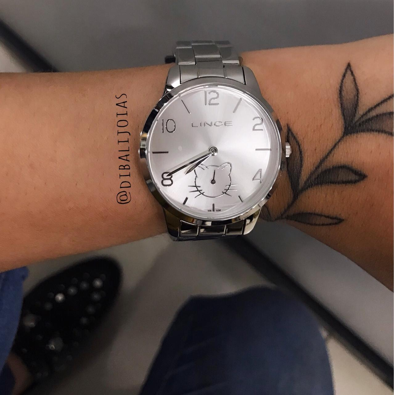 Relógio Lince Prata - LMM4574L