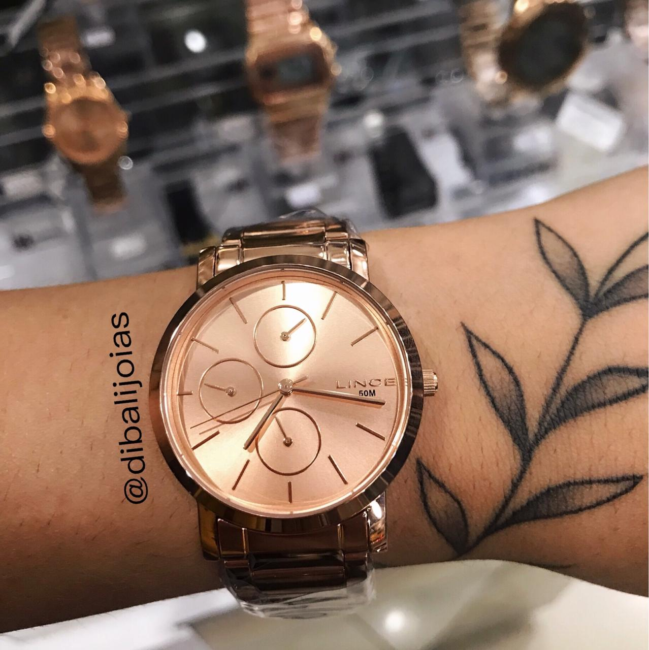 Relógio Lince Rose Gold - LMR4568L