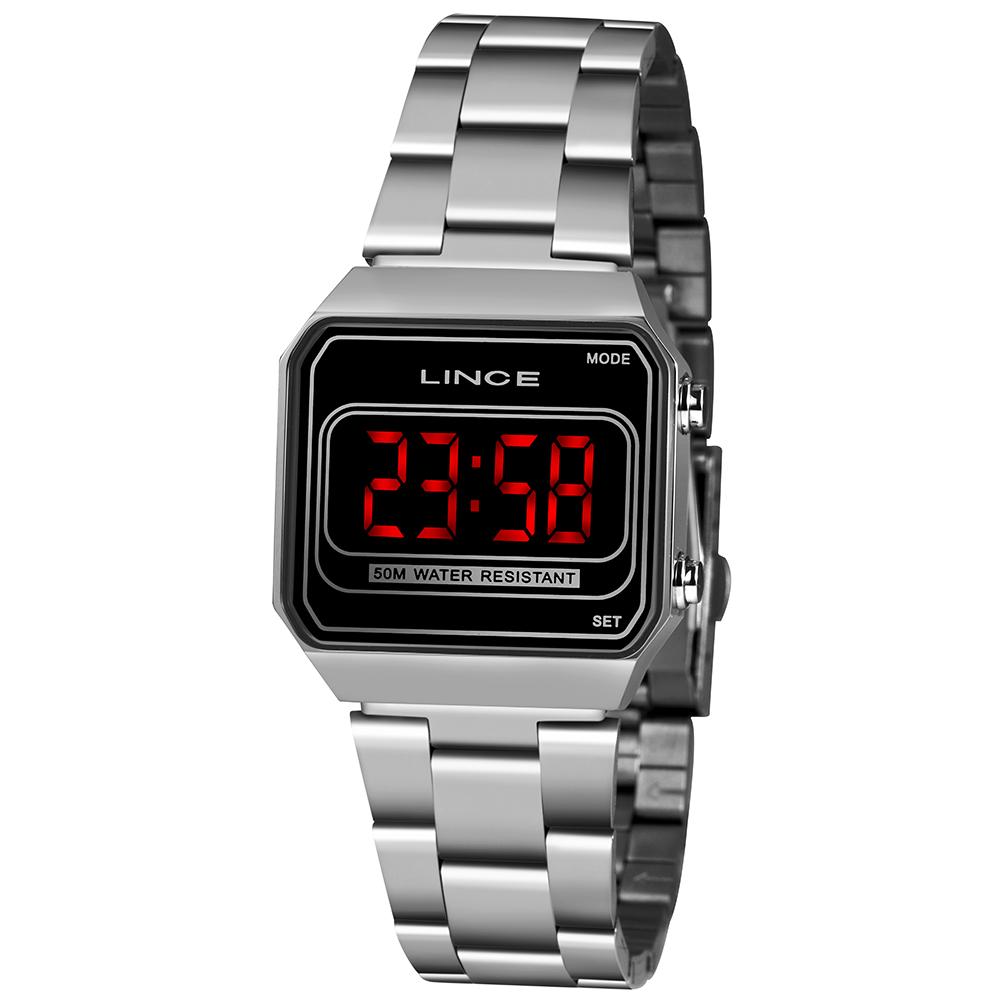 Relógio Lince Vintage Prata - MDM4645L