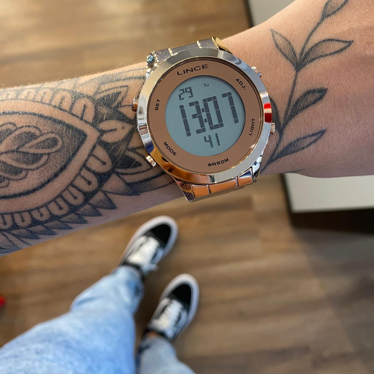 Relógio Lince Vintage Rose - SDRH037L