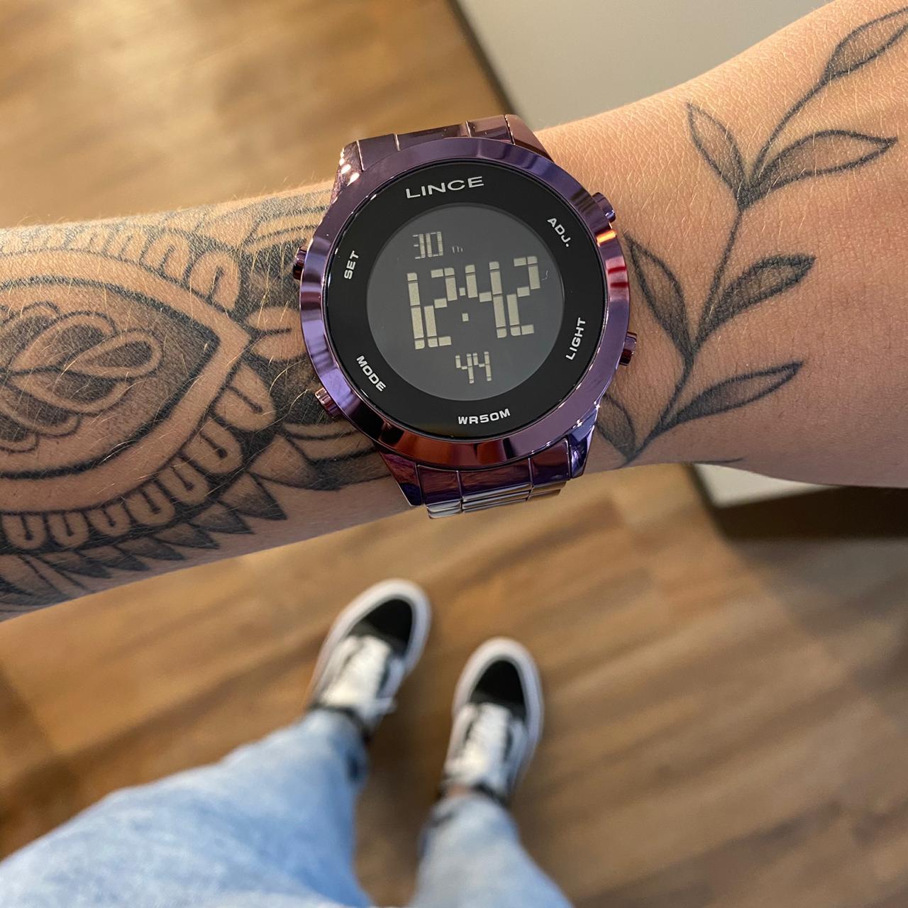 Relógio Lince Vintage Roxo - SDPH083L