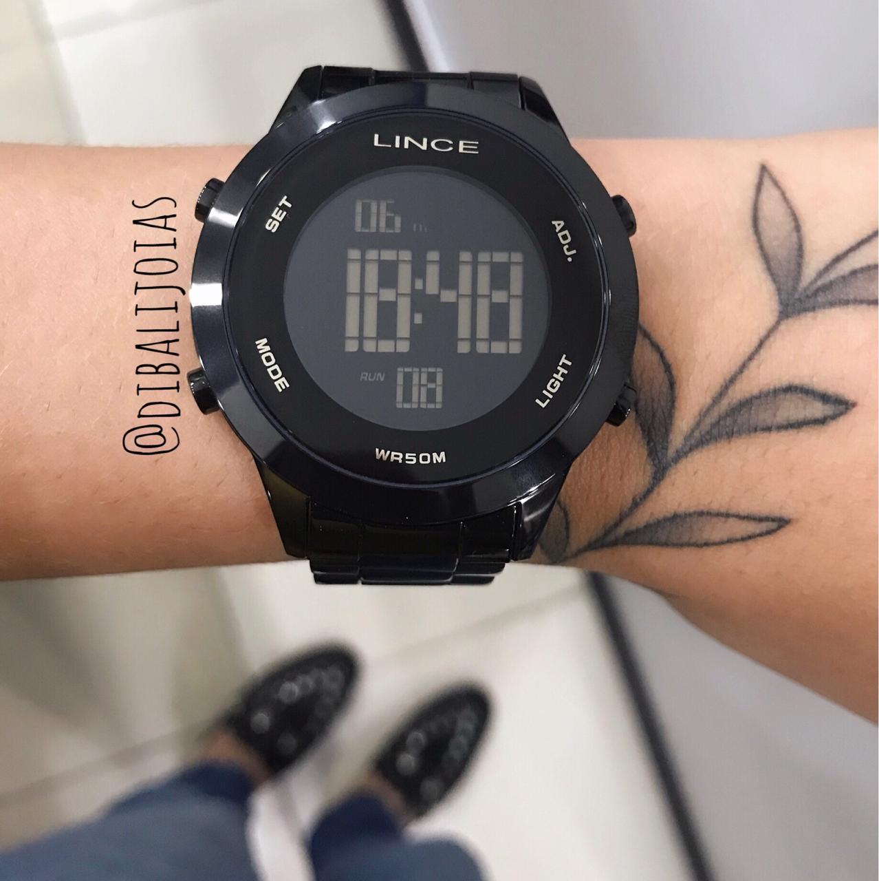 Relógio Lince Vintage Preto - SDPH085L