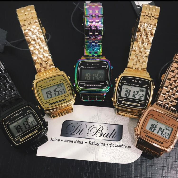 Relógio Lince Vintage - SDRH041L