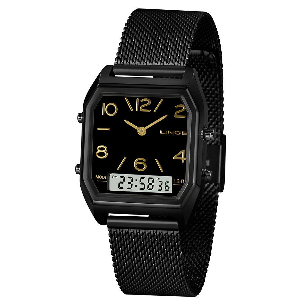 Relógio Lince Anadigi Preto - LANH118L
