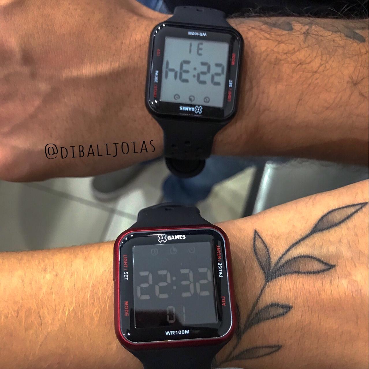 Relógio X Games Preto - XGPPD090