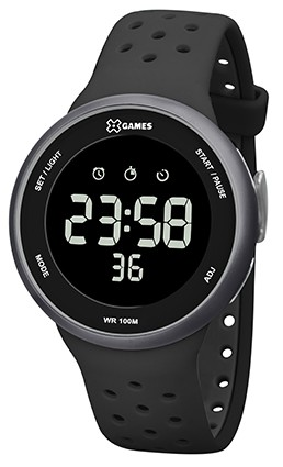 Relógio X Games Preto com Cinza - XMPPD485