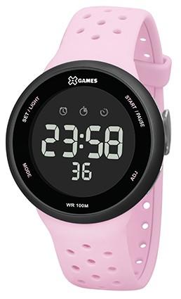 Relógio X Games Rosa com Preto - XFPPD060