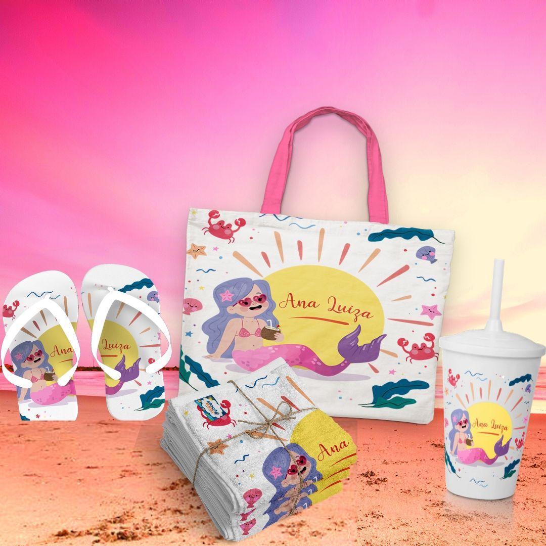 17 Kits Presentes Personalizados Hello Summer   - PLACT ZUM