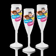 Taça de Champagne 160 ml Personalizada P/Festa