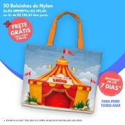 50 Bolsinhas de Nylon Personalizadas