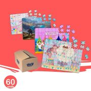 60 Quebra-Cabeças Personalizados Para a Sua Festa