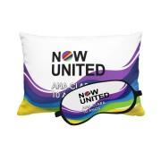 Almofada E Máscara Festa Now United Lembrancinha Kit com 30