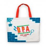 Bolsinha De Nylon Dpa Detetives Do Prédio Azul Personalizada