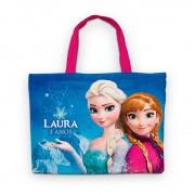 Bolsinha De Nylon Frozen Personalizada