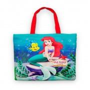 Bolsinha De Nylon Pequena Sereia Ariel Personalizada