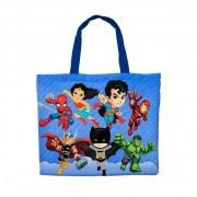 Bolsinha Festa Super Heróis Kids Lembrancinha