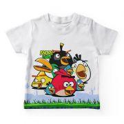 Camiseta Infantil Festa Angry Birds Lembrancinha