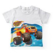 Camiseta Infantil Festa Blaze Monster Machines
