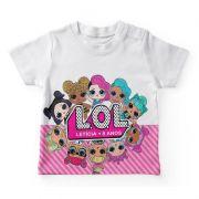 Camiseta Infantil Festa Lol Surprise Lembrancinha