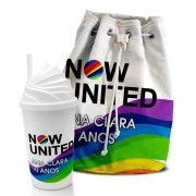 Kit Aventura Festa Now United Lembrancinha Kit com 35