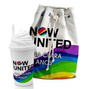 Kit Aventura Festa Now United Lembrancinha Kit com 70