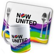 Kit Café Da Manhã Festa Now United Lembrancinha Kit com 70