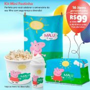 Kit Mini Festinha da Peppa