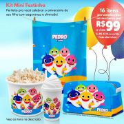 Kit Mini Festinha do Baby Shark