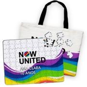 Kit Passatempo Festa Now United Lembrancinha Kit com 60