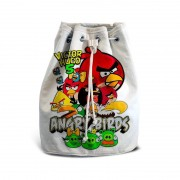 Mochila de Mão Festa Angry Birds Lembrancinha