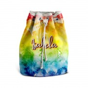 Mochila De Mão Festa Tie Dye 02 Lembrancinha Kit com 15