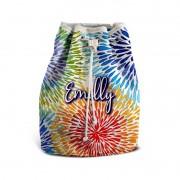 Mochila De Mão Festa Tie Dye 06 Lembrancinha Kit com 15