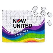 Quebra Cabeça Festa Now United Lembrancinha Kit com 70
