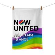 Toalha De Mão Festa Now United Lembrancinha Kit com 30