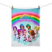 Toalhinha de Mão Festa Rainbow Rangers Lembrancinha