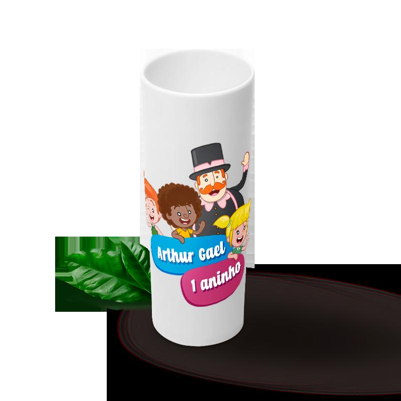 20 Copos Long Drink 350 ml Personalizados Pra Festa  - PLACT ZUM