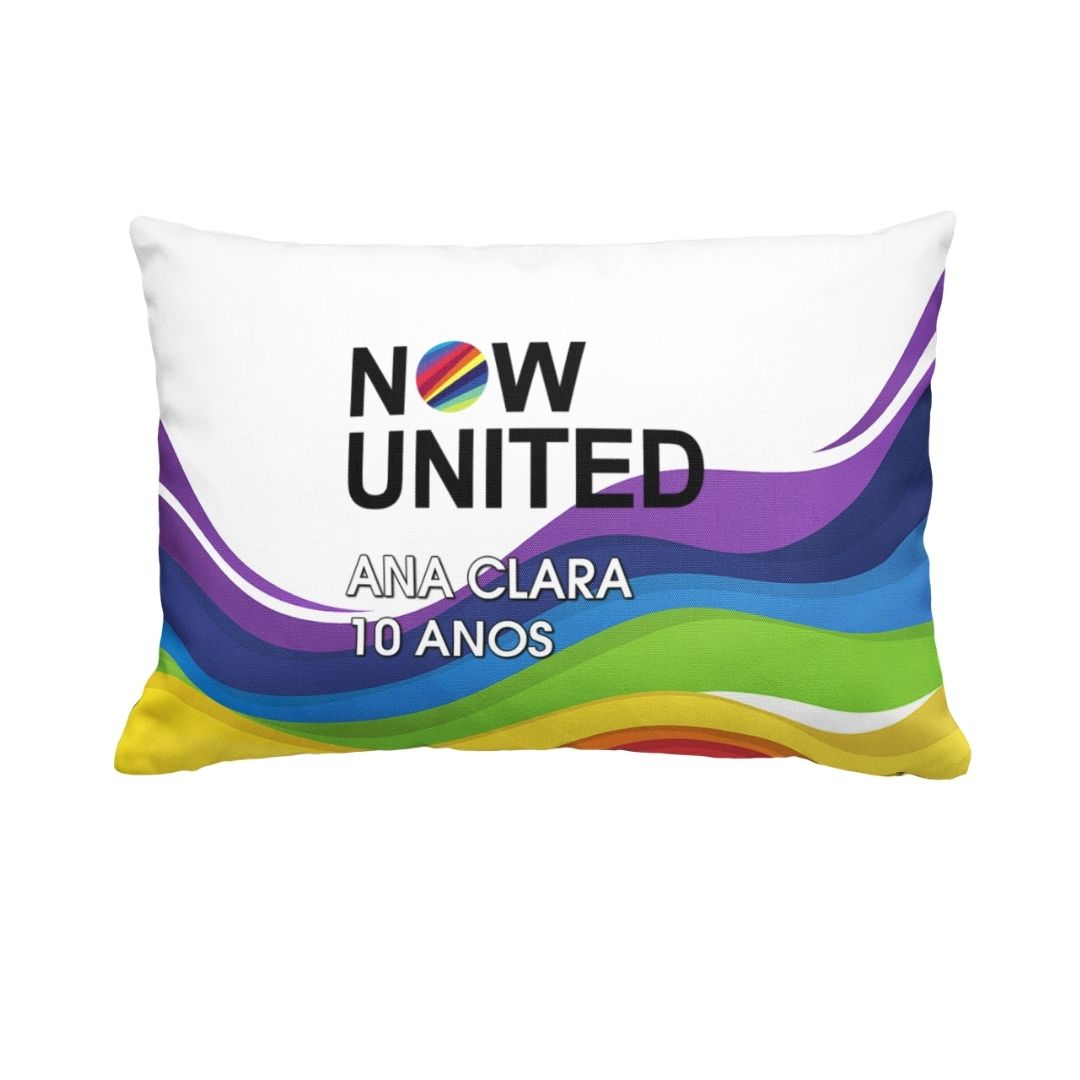 Almofada Festa Now United Lembrancinha  1  - PLACT ZUM
