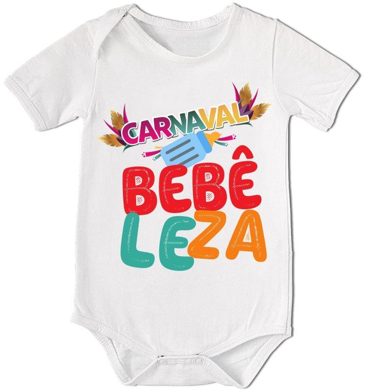BODY BEBÊ DIVERTIDO CARNAVAL BEBÊLEZA  - PLACT ZUM