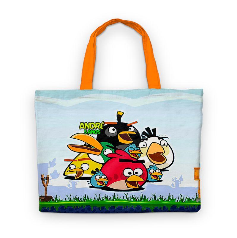 Bolsinha Festa Angry Birds Lembrancinha Aniversário  - PLACT ZUM