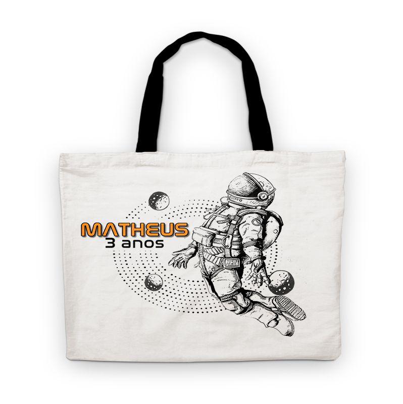 Bolsinha De Nylon Astronauta Ref 1607 Personalizada  - PLACT ZUM