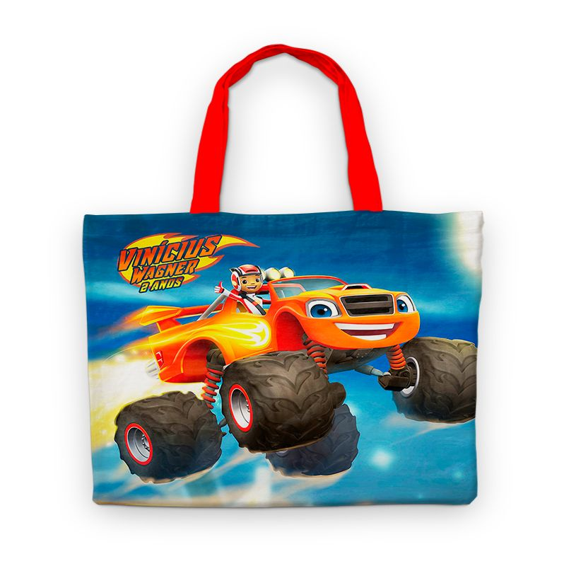 Bolsinha De Nylon Blaze And The Monster Machines Personalizada  - PLACT ZUM