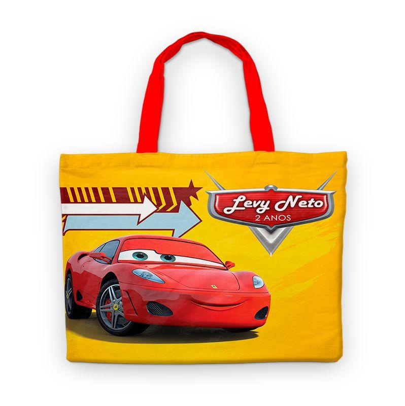 Bolsinha De Nylon Carros Personalizada  - PLACT ZUM