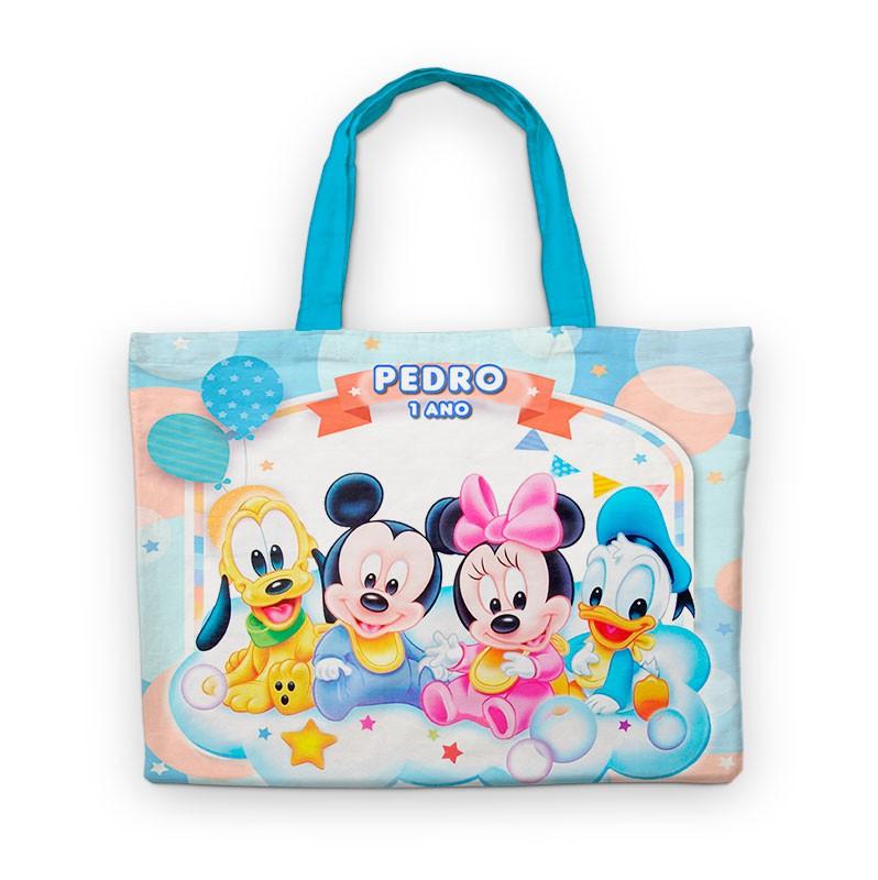 Bolsinha Festa Disney Babies Lembrancinha  - PLACT ZUM
