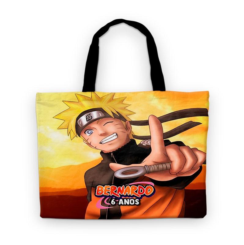 Bolsinha Festa Naruto Lembrancinha Aniversário  - PLACT ZUM