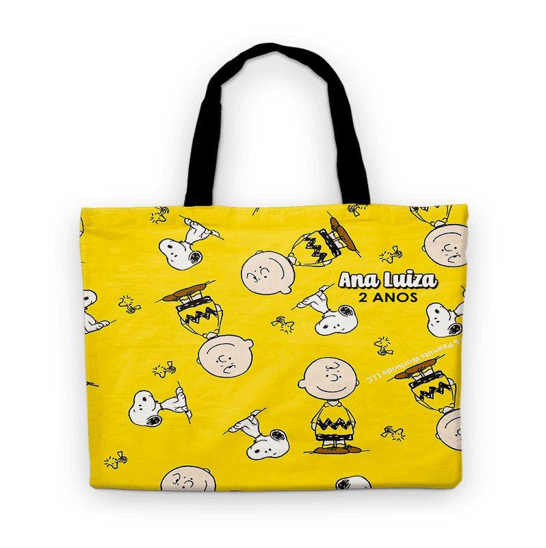 Bolsinha Festa Snoopy E Charlie Brown Lembrancinha  - PLACT ZUM