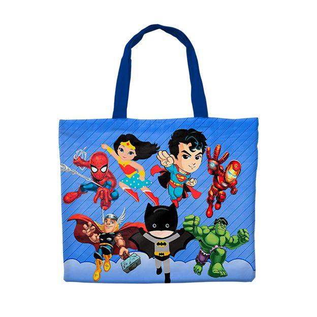 Bolsinha Festa Super Heróis Kids Lembrancinha  - PLACT ZUM
