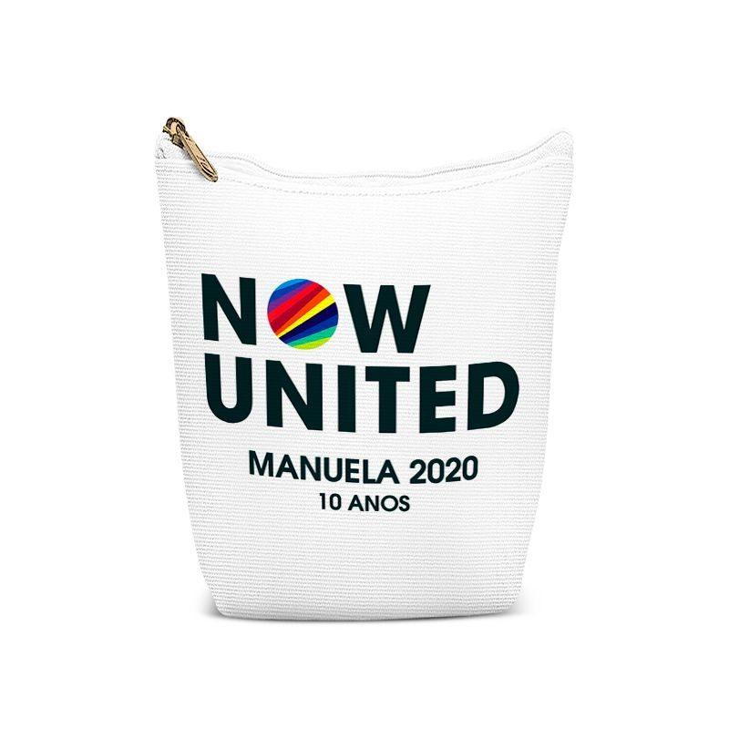 Bolsinha Porta Objetos Festa Now United Lembrancinha  - PLACT ZUM